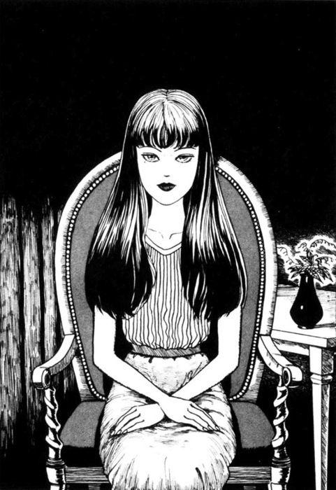 junji ito, manga, and tomie image