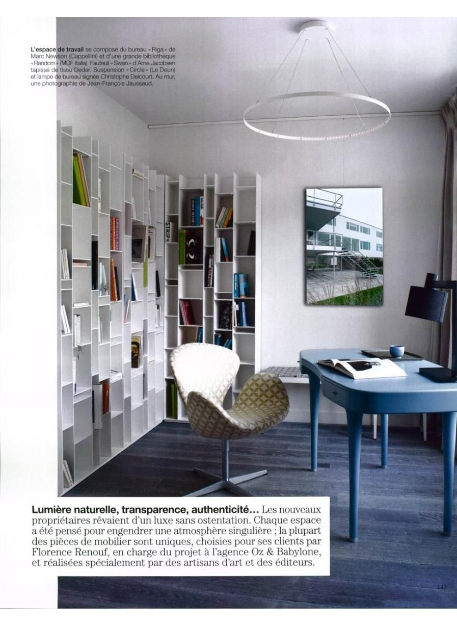 Cappellini Riga Desk By Marc Newson Home Office