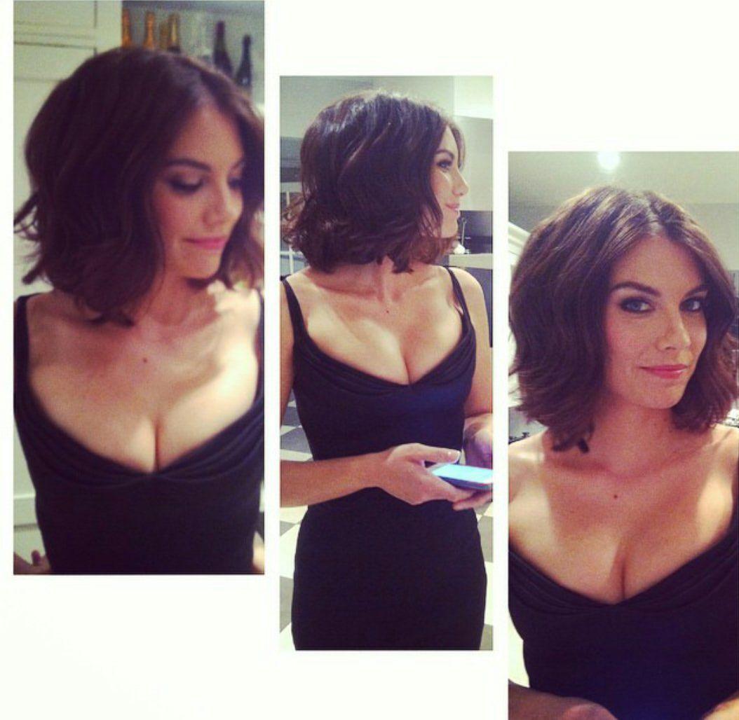 Lauren Cohan Short Hair Twd