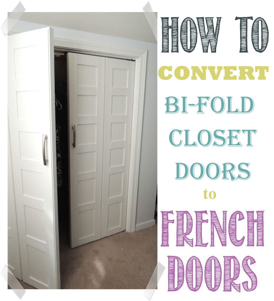 Convert Bifold Doors to French Doors Easily   Bi fold doors, Doors ...