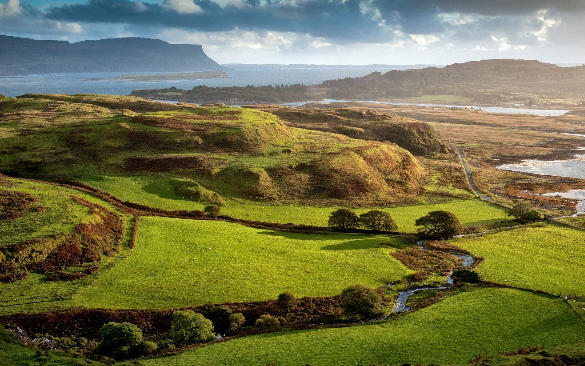 Scotland Wallpaper Scotland Landscape British Countryside Sea To Sky Highway
