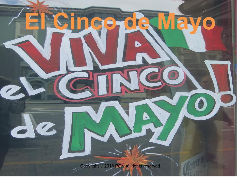 Spanish Cultural Activities El Cinco De Mayo