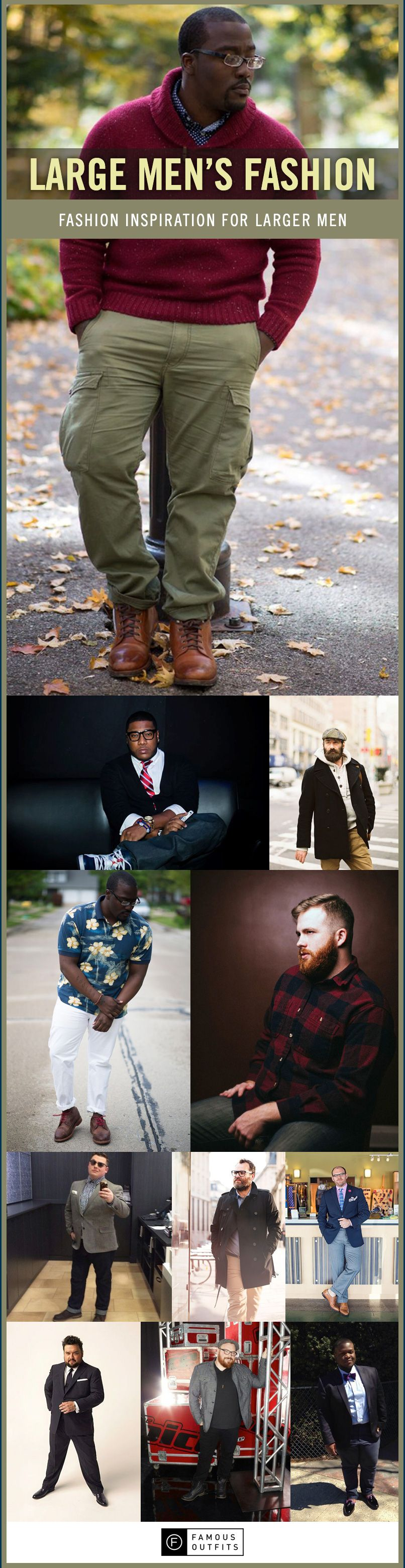 Large Men\u0027s Fashion | Display, Inspiration and Collection