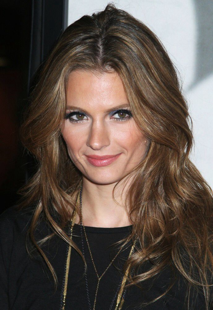 Stana Katic | HAIR!!!! | Pinterest | Stana katic, Hair coloring ...