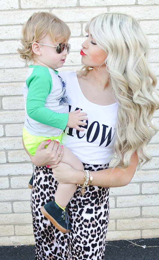 CARA LOREN - Love the Hair and Makeup and of course the little cutie;-)
