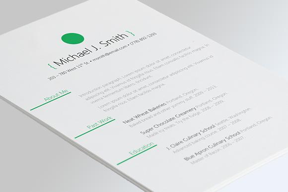 Sphere Resume Template Resume template, Templates, Best