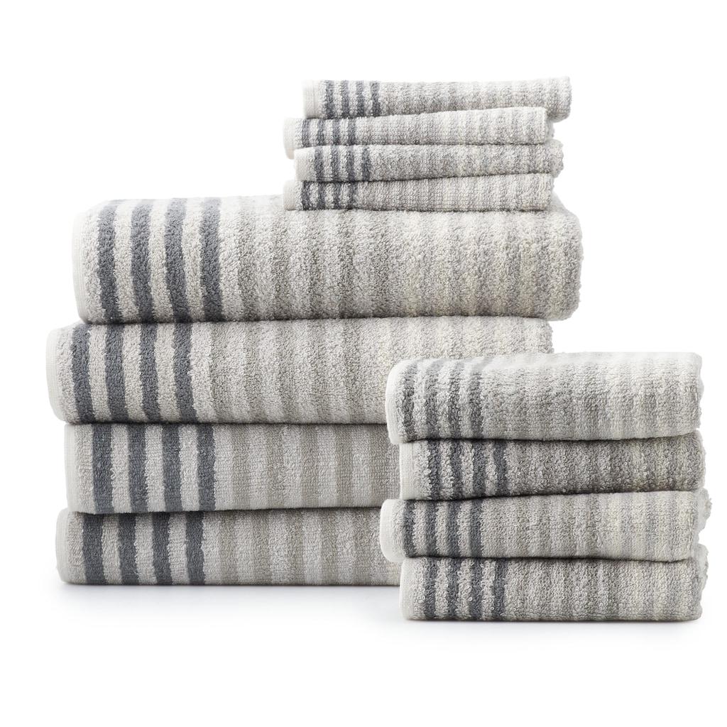 The Big One 12 Piece Bath Towel Set 12 Pk In 2020 Bath Towel