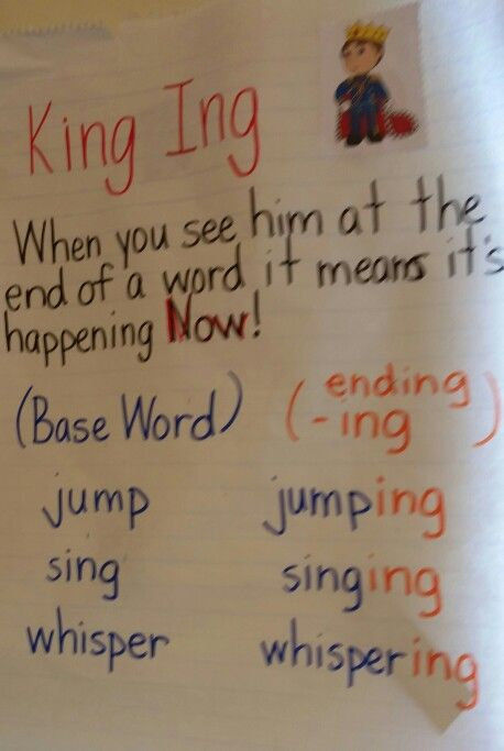 Suffix Ing