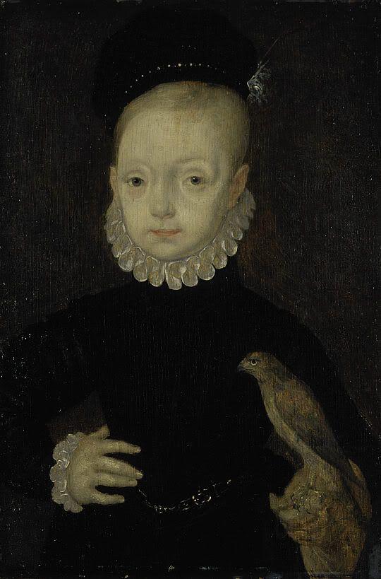 James I of England as a child.