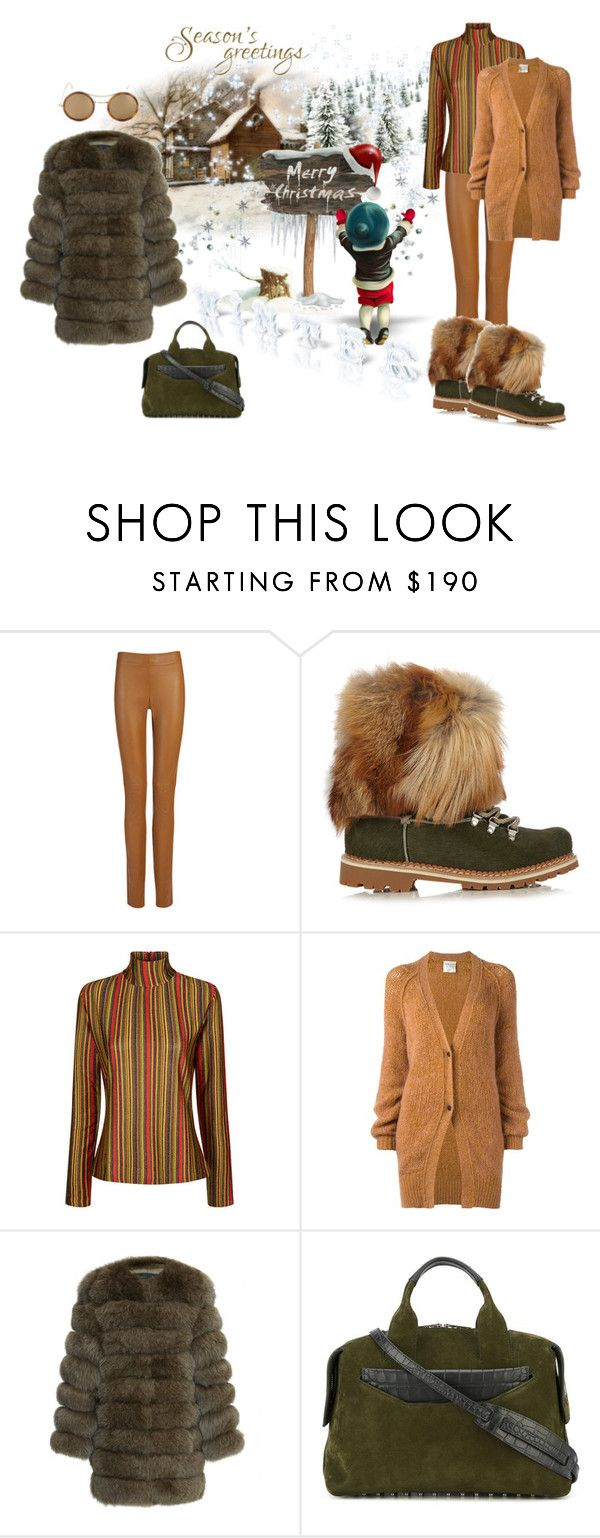 """Merry Christmas!!!"" by zabead ❤ liked on Polyvore featuring Joseph, Montelliana, Marco de Vincenzo, Forte Forte, Alexander Wang and Kyme"
