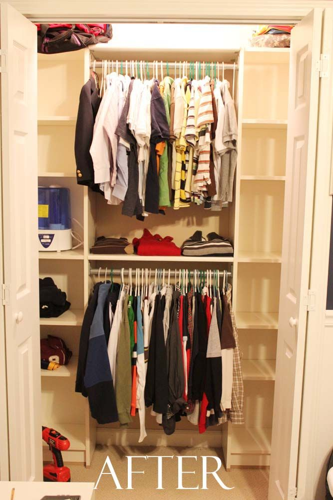 Peach Streetu0027s Blog: Our Under $100 Closet System   IKEA Hack