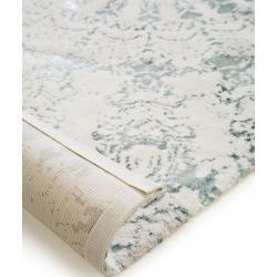 Photo of benuta Naturals Waschbarer Kurzflor Teppich Luis Beige/Türkis 120×170 cm – Moderner Teppich für Wohn