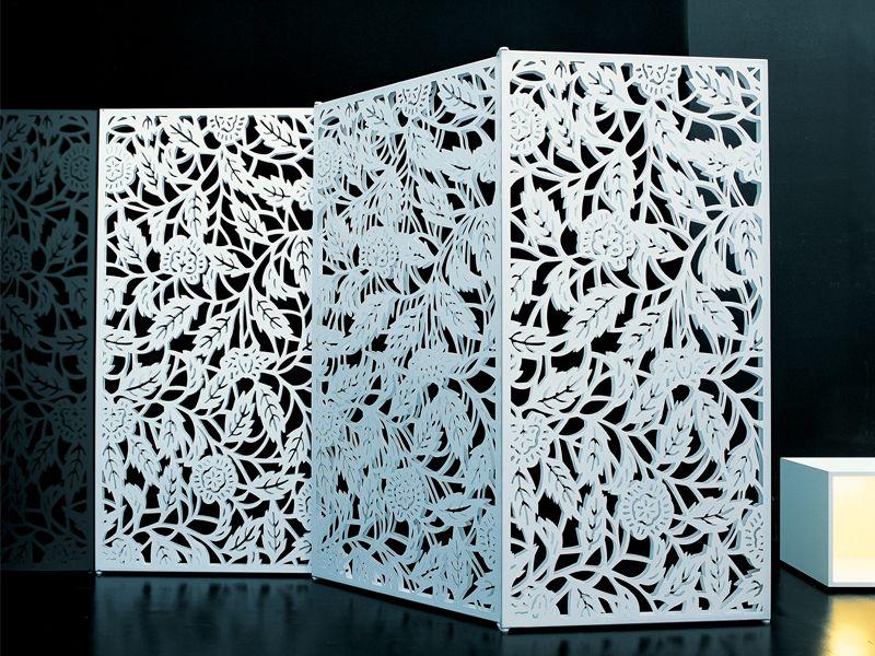 Divisorio in acciaio FIORE Collezione Edizioni by Zanotta | design Fabrizio Bertero, Andrea Panto, Simona Marzoli