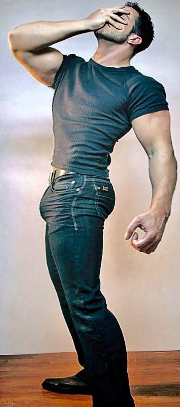 bulging trousers sex hot guys