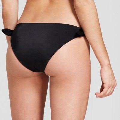 35e4ceec04 Women's Sun Coast Cheeky Tie Side Bikini Bottom - Shade & Shore Black XL