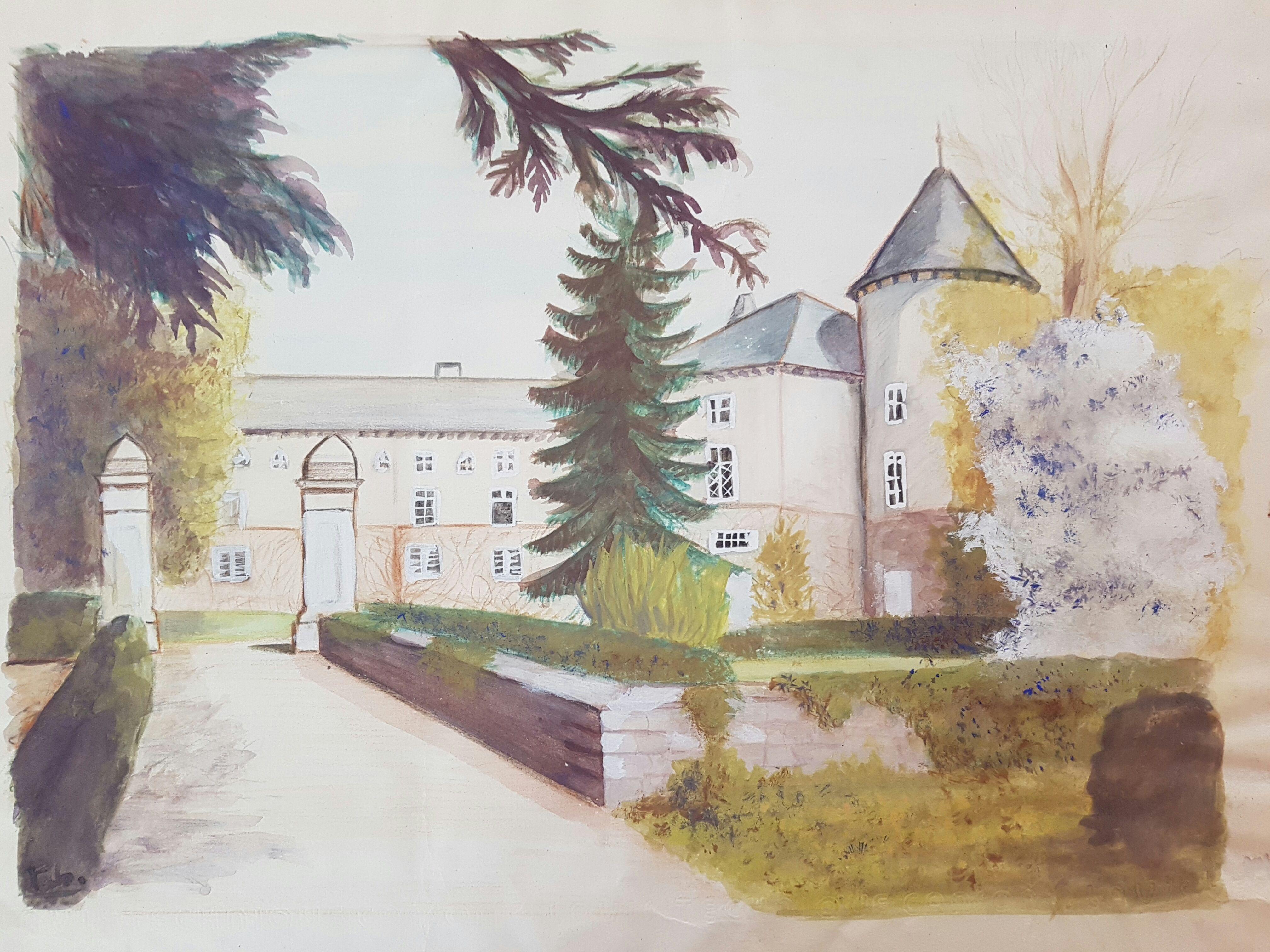 La Forêt Sur Sèvre France château (castle) in [la forêt sur sèvres deux sèvres france