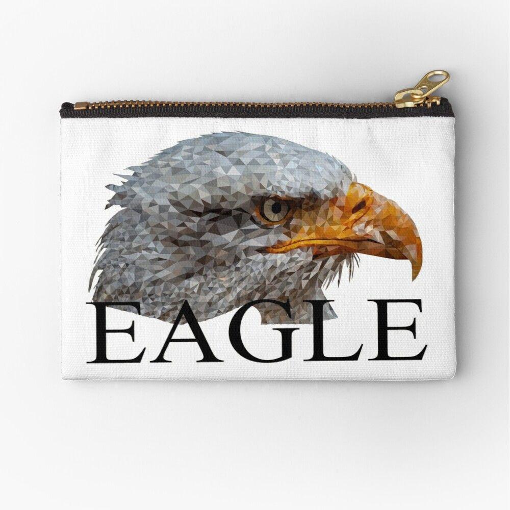 Adler Polygon Eagle Taschchen Von Kraftvoll In 2020 Adler Shirt Designs Wolle Kaufen