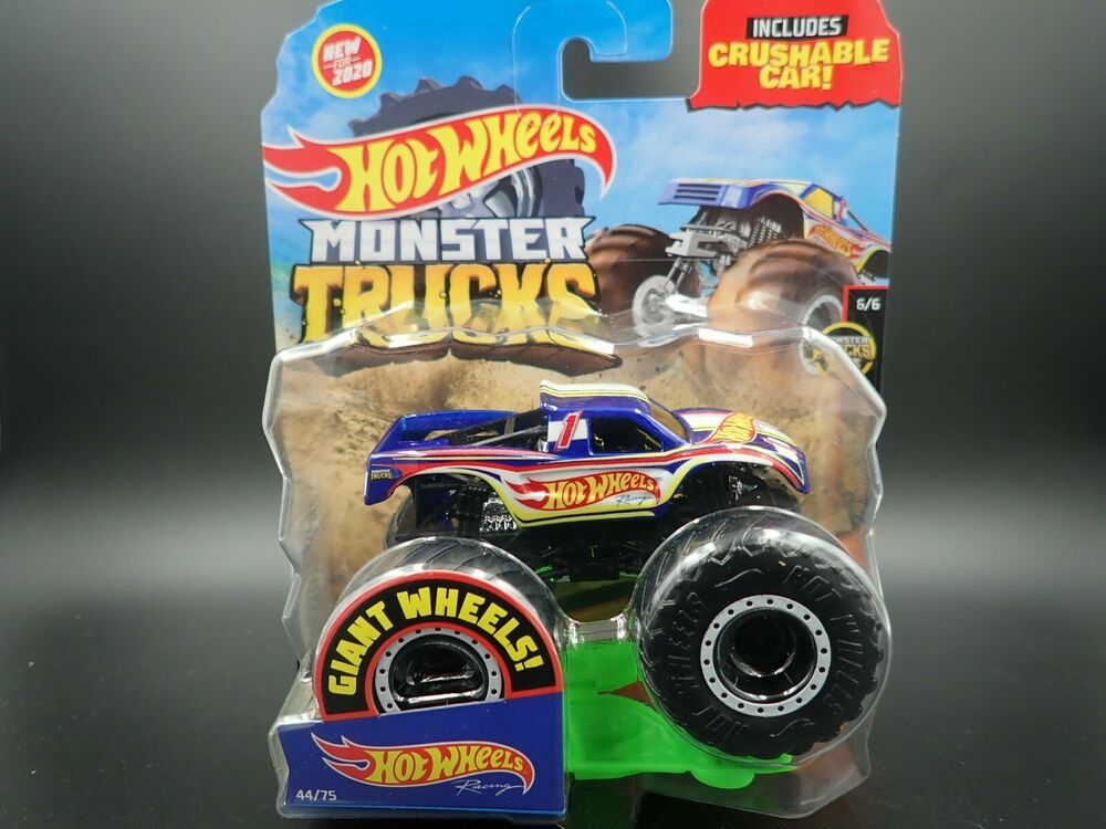 2020 Hot Wheels Monster Truck 1 64 Hot Wheels Racing Truck 44 75 Trucks Live 6 6 Hotwheels Monstertruck In 2020 Truck Living Monster Trucks Hot Wheels