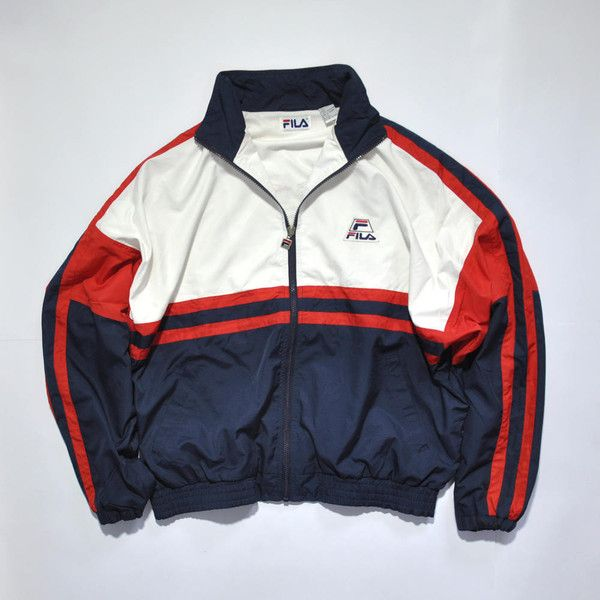 ddf4ac55c840 Men s Fashion · Rare Vintage 80s 90s FILA USA Jacket