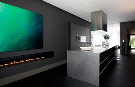 Herenhuis met moderne interieur inrichting home ideas house