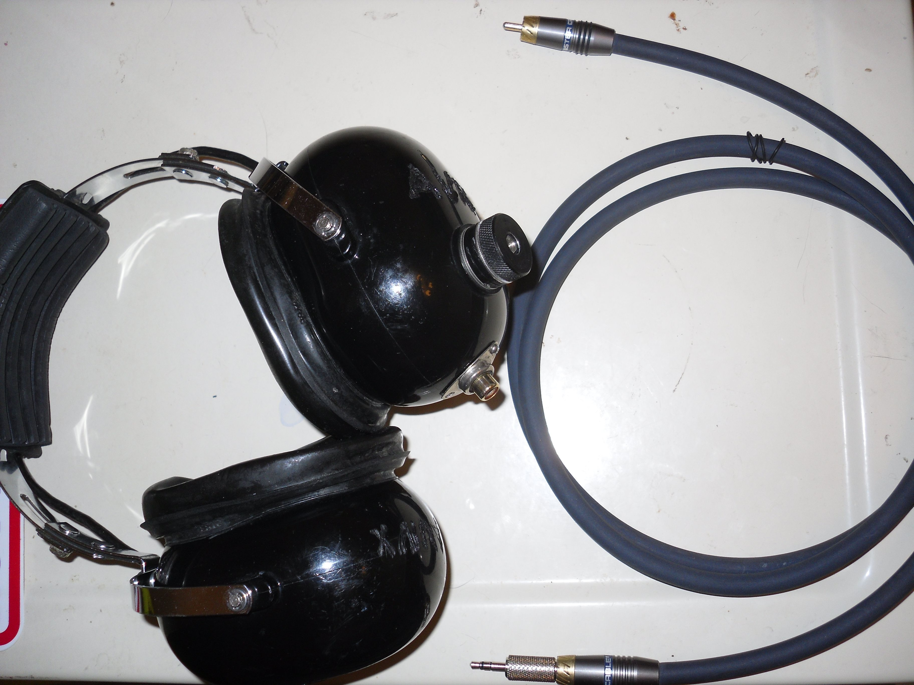 a conversion project with headphones