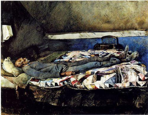 """Garret Room"", 1962, Andrew Wyeth."