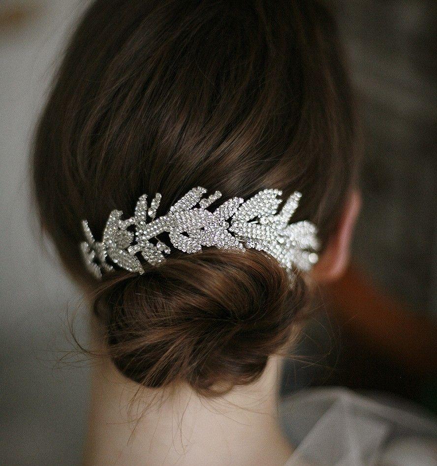 arielle chignon wrap with double comb | my dream wedding came true
