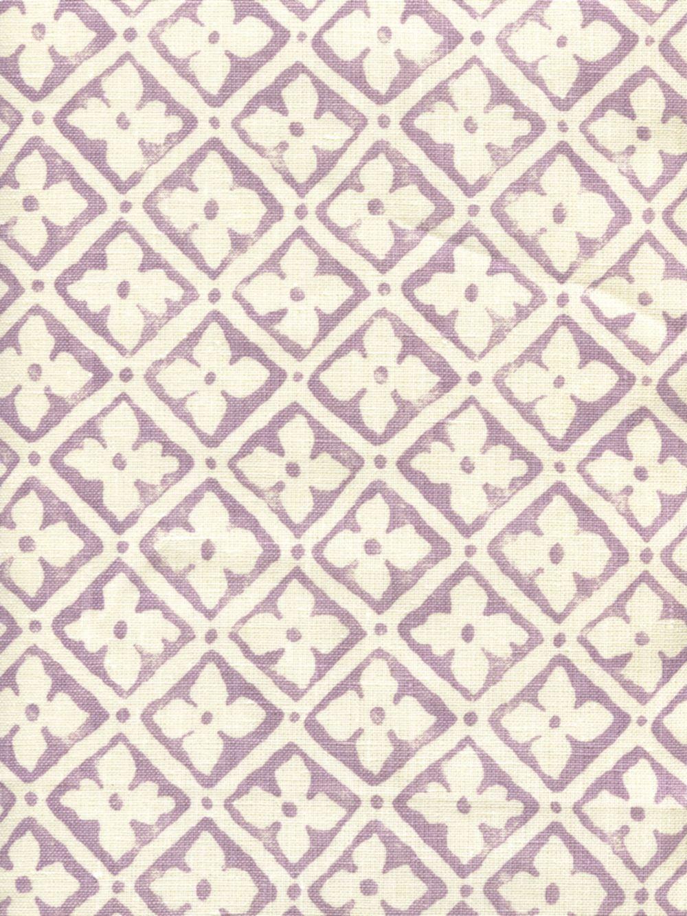 Quadrille Puccini Lavender Quadrille fabric, Fabric