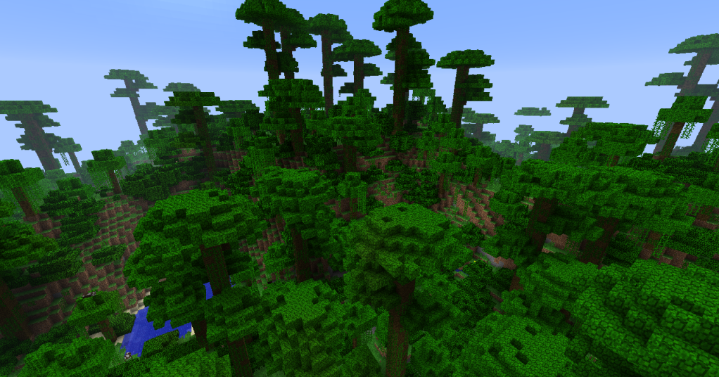 Minecraft Jungle Biome Minecraft Biomes Pinterest Biomes - Minecraft ftb hauser
