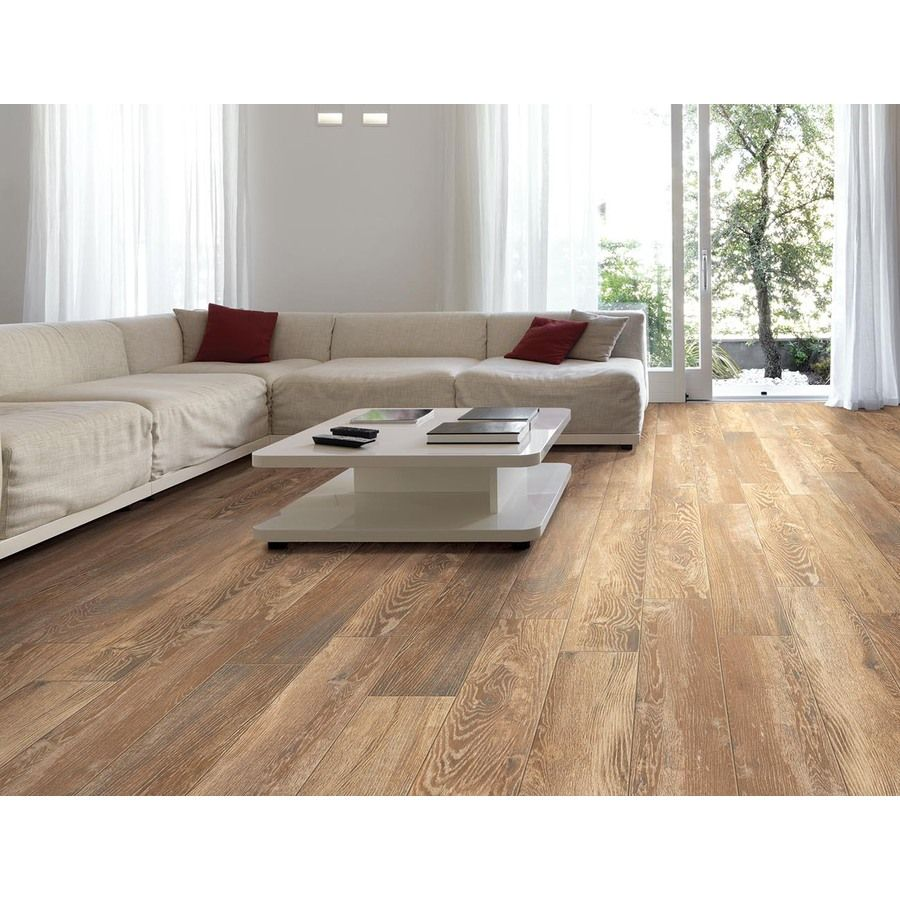 Shop Style Selections Natural Timber Cinnamon Porcelain