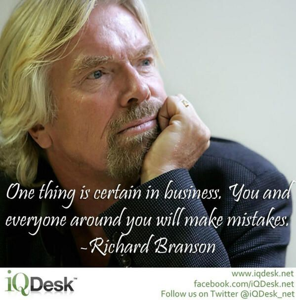 Inspirational Quotes On Pinterest: Words Of Wisdom From Richard Branson... True For Life Also