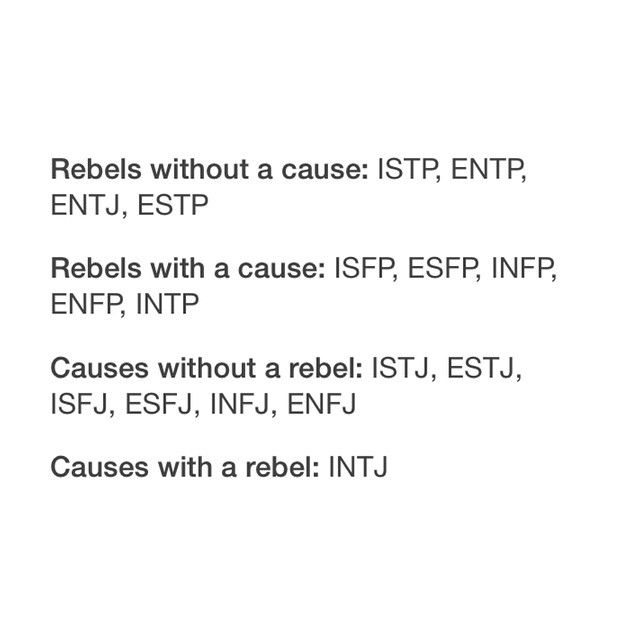 I am not a rebel, but I have a lot of rebel friends, and I think it is fun to be with rebels :-) it also works contagious :-) in a good way of course...