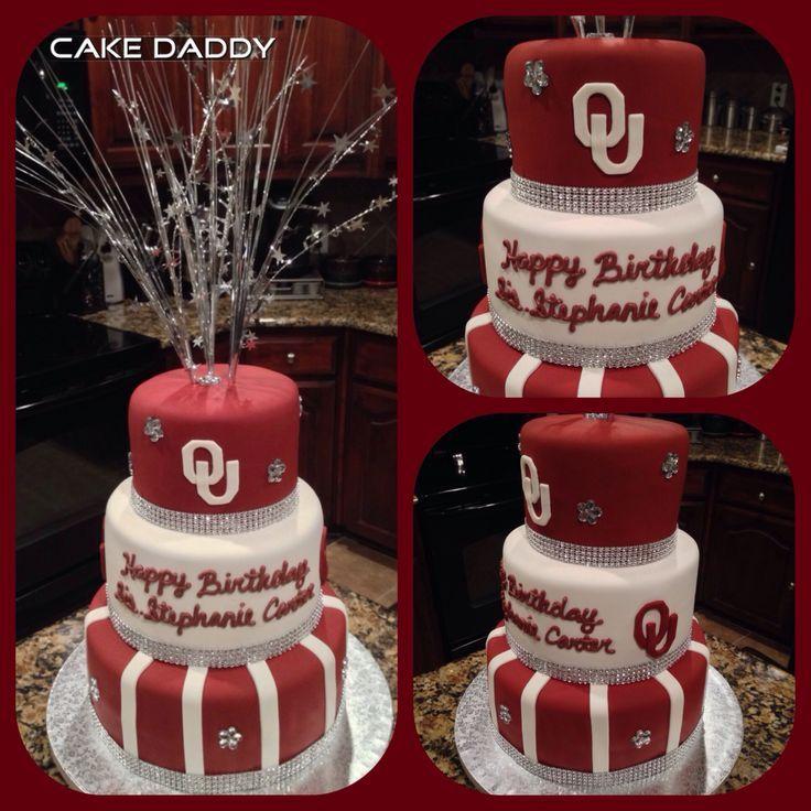 Oklahoma Sooners Birthday Cake