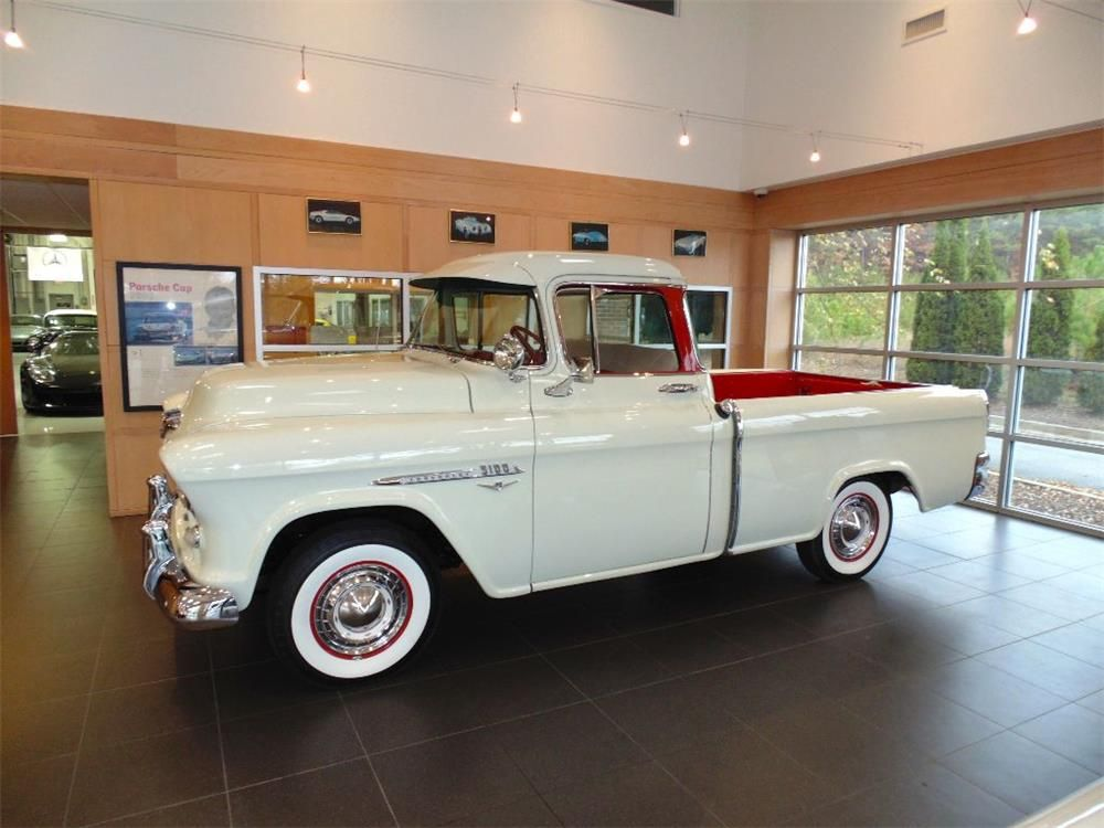 This is an excellent example of an extremely well-restored 1955 ...