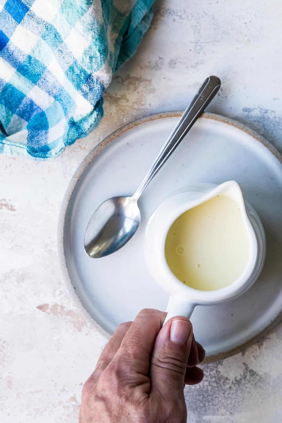 Homemade Vanilla Custard