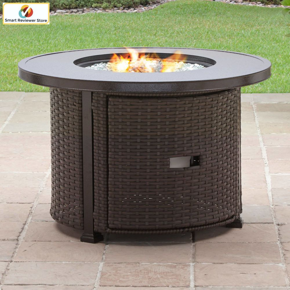 inch better homes and gardens outdoor fireplace heater natural