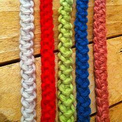 Cordon roumain au crochet tutoriel facile | Lidia crochet tricot, Crochet