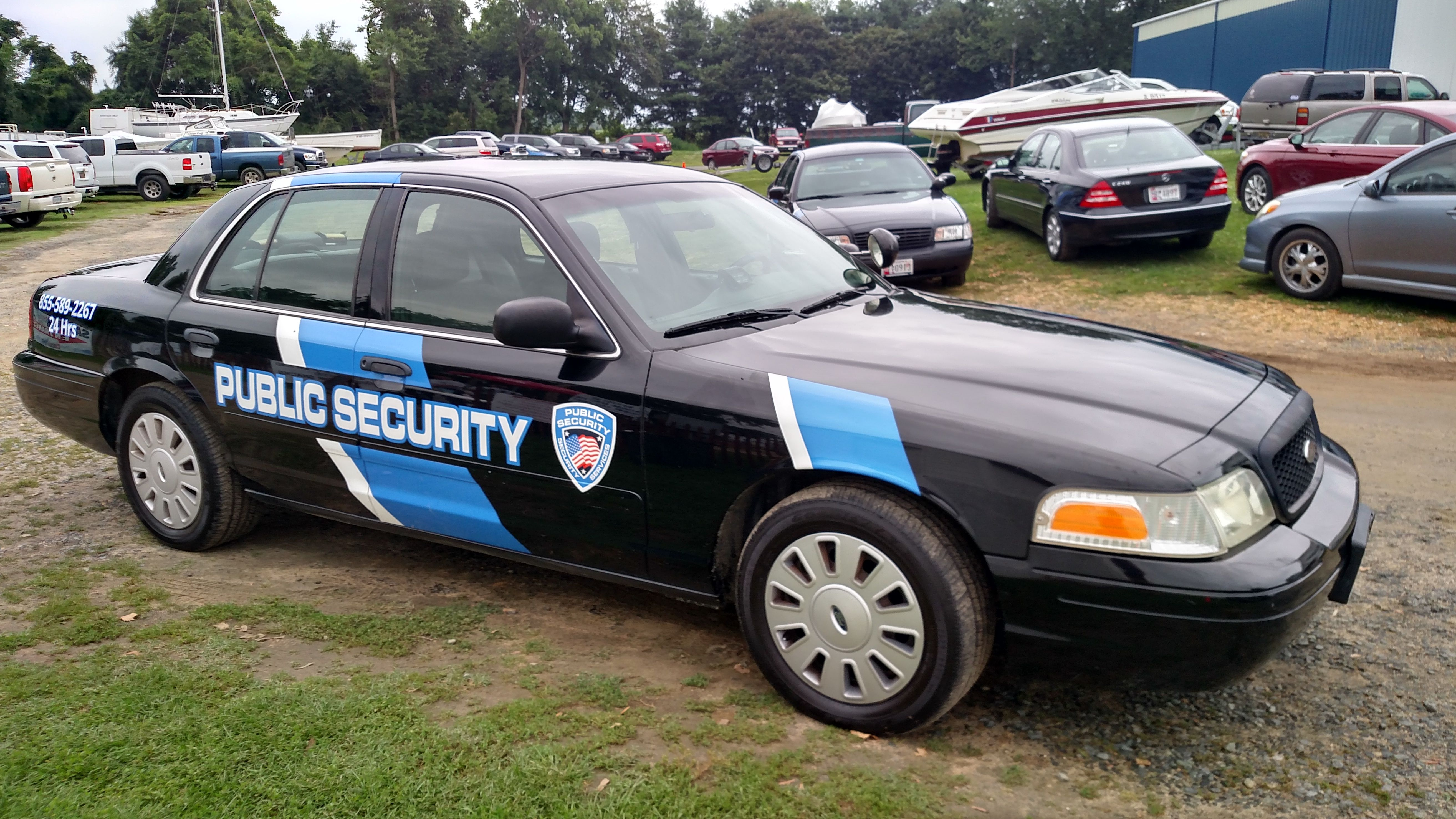 Private Security Company Conducts Parking Enforcement And