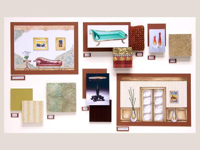 Design By Claudia Leon Residential Thesis Board Interior Design Student  Work   FIDM.edu #interiordesign #design #inspiration Design Ideas