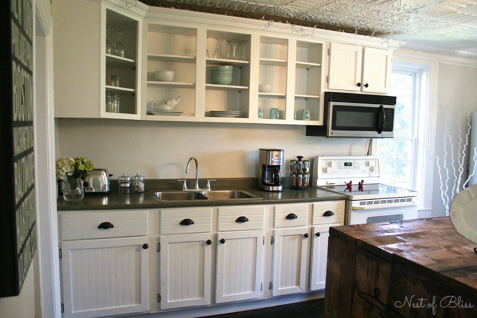 Redoing kitchen cabinets on a budget - Cheap Kitchen Makeovers Kitchen Makeovers Cheap Wallpaper Kitchen Renovation Makeover Progress