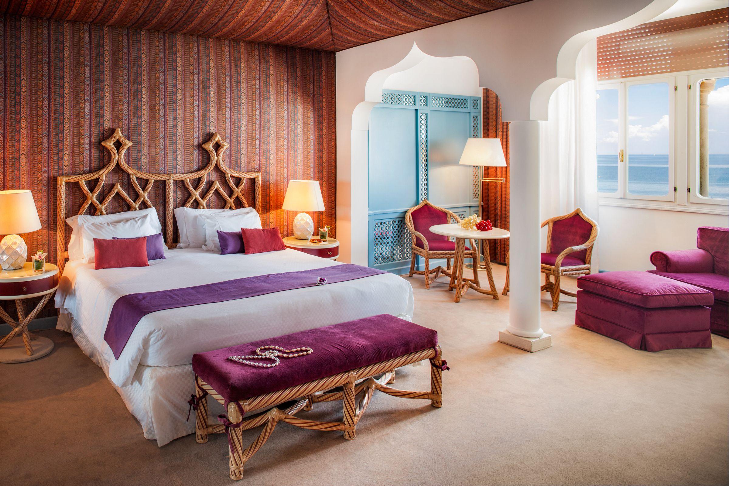 Grand Deluxe Double Room sea view, Hotel Excelsior - Venice Lido ...