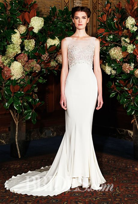 Brides: Austin Scarlett Wedding Dresses Fall 2015 Bridal Runway Shows Brides.com  | Wedding Dresses Style