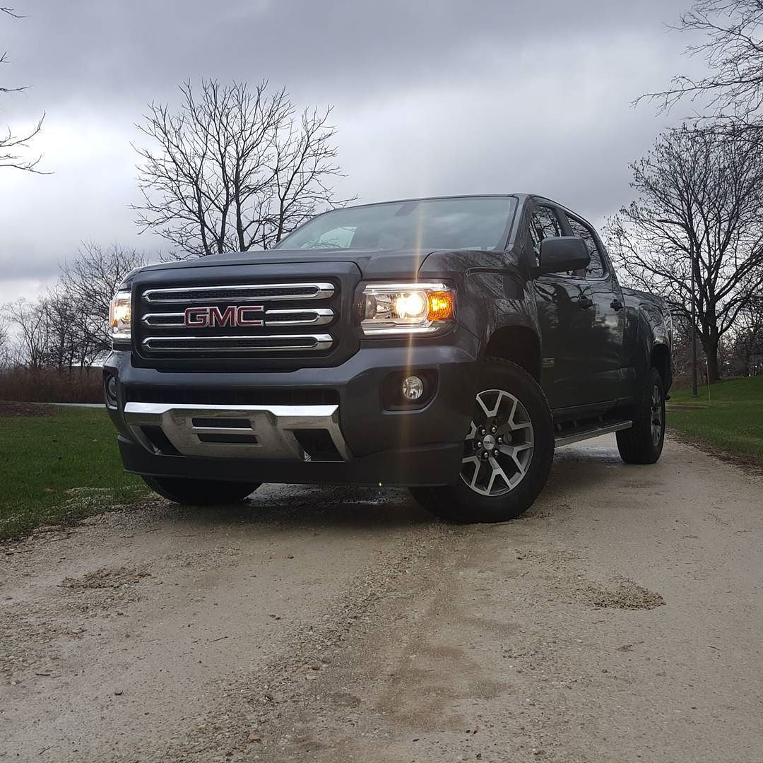 2016 Gmc Canyon All Terrain Diesel The Diesel Is Perfect In This