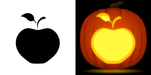 recipe: apple pumpkin carving [4]
