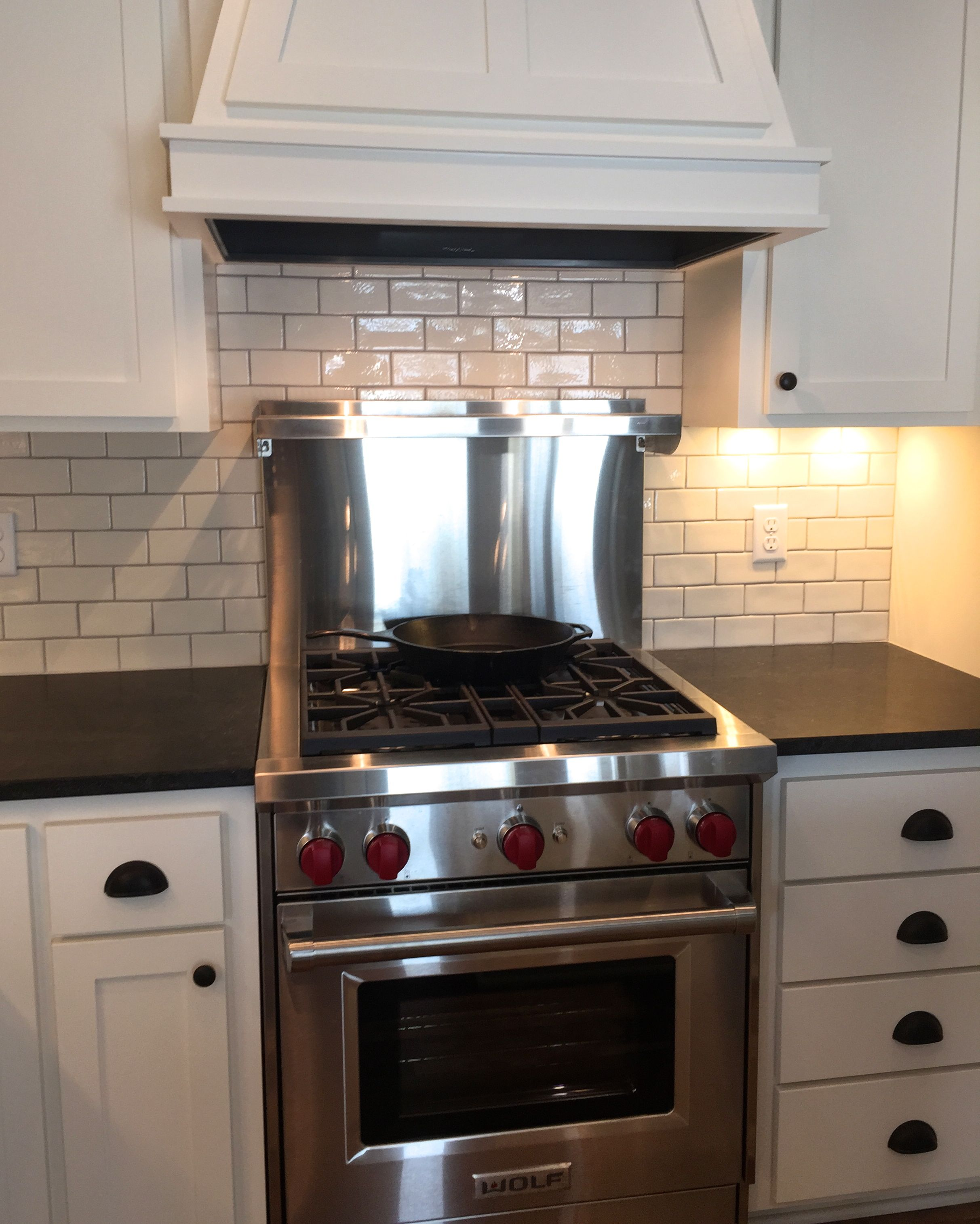 Wolf Range With Vent A Hood Exhaust Liner Kitchen And Bath Farmhouse Kitchen Farmhouse Sink