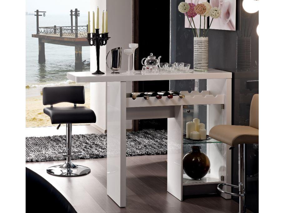 Bartisch Hochglanz Cosmopolitain günstig kaufen I Möbel Online - design küchen günstig
