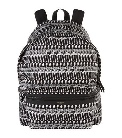 ... release date  74711 471ff SAINT LAURENT Skeleton Backpack. saintlaurent  bags leather canvas backpacks ... fe9a29d77e