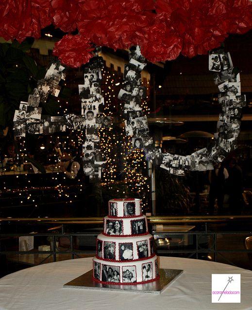 Tarta 40 cumplea os 40 a os decoraciones para fiesta y a os - Decoracion cumpleanos anos ...
