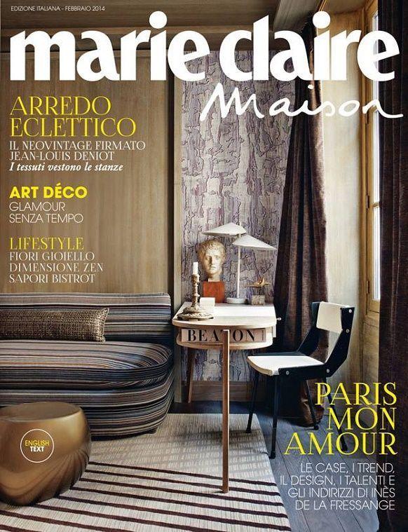 Elle Decor Magazine Interiors Marie Claire Maison Italia Top 5 Interior De Interior Design Magazine Cover Interior Design Magazine Interior Design Software