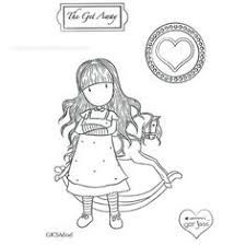 Image result for Gorjuss Santoro Stamps clipart and coloring pages ... | 225x225